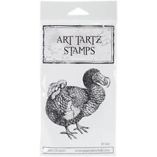 Art Tartz Paper Parachute  Rubber Stamp  DO DO BIRD AT022 Scrapbooking