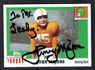 Johnny Majors 2005 Topps All American #38 signed autograph auto Football Card