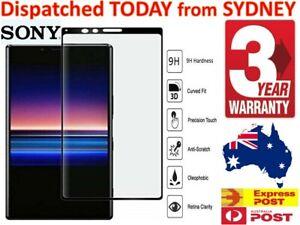 Tempered Screen Protector For Sony Xperia Z1 Compact Z2 Z3 Z5 Prem X XZ XZ1 XZ2