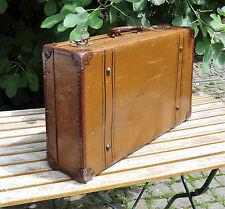 antique suitcase - Antiker Reisekoffer dekorativer Oldtimer Reise Koffer ~1900