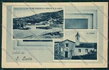 Prato Santa Lucia Saluti da cartolina QQ1707