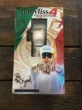 """Babyliss Pro White FX """"Rob The Original"""" Limited Edition Clipper 4 Barbers"""