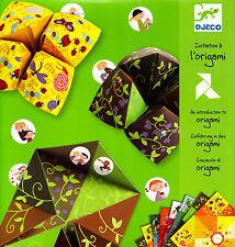 Jeunesse - Initiation à l'Origami - Salières à Gages - 5/10 ans - Eds. Djeco