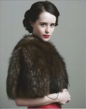 Claire Foy autograph - signed The Crown photo