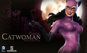 DC Comics-Sideshow Premium Format Figure: Classic Catwoman  Sold Out! 423/1500