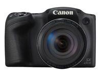 Canon PowerShot SX430 IS 20MP Digital Camera (Black)