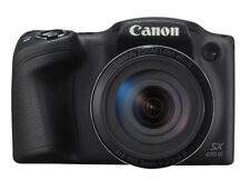 Canon PowerShot SX430 IS 20MP Digital Camera (Black)
