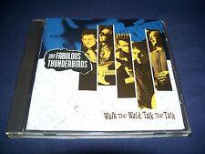 Walk That Walk, Talk That Talk - The Fabulous Thunderbirds (CD 1991) NRMT