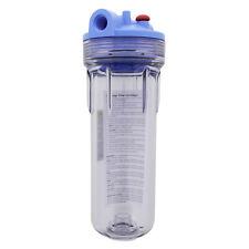 Pentek 158623 Standard Clear 10 x 2.5 Inch Water Filter Housing 1/2 FNPT