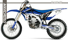 YAMAHA YZ450F 2010 2011 2012 2013 MAXCROSS GRAPHICS KIT DECALS STICKERS A5 KIT