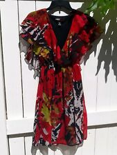 Miss Sixty NEW Black, Red Womens Size 0 Sexy Lolita Dress Casual dress sundress