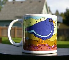 1980 Early Birdie Catches The Worm Coffee Mug by Tayor & NG Made in Japan