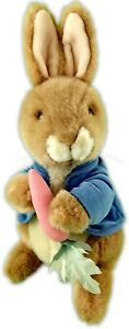 "13"" EDEN VINTAGE BROWN BLUE FREDERICK WARNE PLUSH PETER RABBIT 65-6"