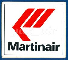 MARTINAIR DUTCH CARGO AIRLINE STICKER