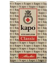 Aftershave Lotion  KAPO Classic Protects the Skin from Inflammations 100 ml