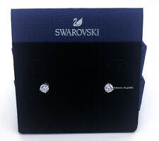 Attract Round Pierced Earrings Green Rhodium 2019 Swarovski Jewelry 5512384