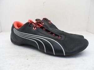 Puma Mens Future Cat S1 Night Cat Motorsport Shoe 305530 04 Black/Neon Orange 12