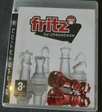 Playstation 3 (ps3) - Fritz by Chessbase-CIB PAL UK Version * sehr selten! *