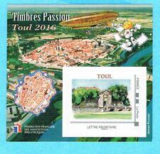 TIMBRE DE FRANCE - BLOC FFAP N° 12** Timbre Passion Toul 2016