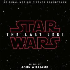 STAR WARS The Last Jedi John Williams SOUNDTRACK CD NEW