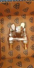 T&S B-0894 Medical Faucet 4� Wrist Handles Deck Mt Spout Drip Sprayface New