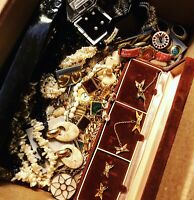 Mystery 20 Pieces Of Mix Vintage Costume Jewelry All Good Wearable $2 Each