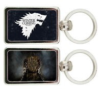 PORTACHIAVI METALLO IL TRONO DI SPADE STARK WINTER IS COMING GAMES OF THRONES