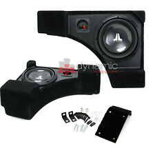 JL AUDIO® Chevrolet Camaro Convertible 2011-Up 10W1v3 Subwoofers Stealthbox New