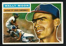 Wally Moon -1956 Topps Baseball Card # 55 - St. Louis Cardinals Outfielder