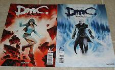 Devil May Cry Chronicles of Vergil 1 & 2 Full Set 1st Prints RARE DMC