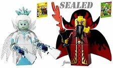 LEGO 71008 Minifigures Evil Wizard & Ice Queen 71013 Series 13 & 16 LOT packs
