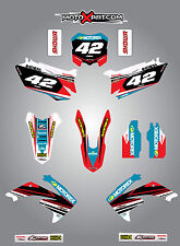 Honda CRF 250 - 2010 - 2013 Full  Custom Graphic  Kit - STRIKE Style sticker kit
