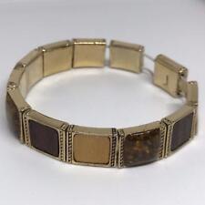 Vintage Monet Elastic Bangle Bracelet