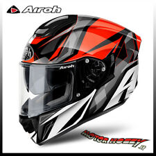 CASCO MOTO INTEGRALE HPC HIGHT COMPOSITE AIROH ST 501 THUNDER RED TAGLIA S