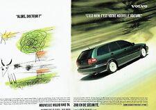 Publicité Advertising 087  1998  la Volvo S40 T 4  ( 2p)