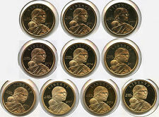 Sacagawea Dollars 2000 - 2009 Proof Coin Set Collection - San Francisco - AL855