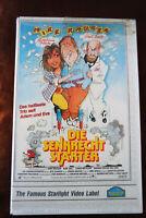 Die Senkrechtstarter Karl Dall Mike Krüger Christina Plate Rateuke VHS Video xx