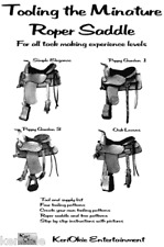 Tool Western Saddles in Miniature! Patterns included!