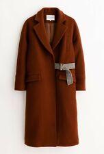 Women's Petite Studio NYC Carmen Wool Coat in Cinnamon - Size XS