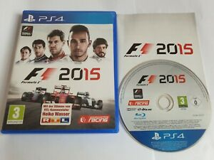 Formula 1 F1 2015 Sony PlayStation 4 PS4 Game FREE UK POSTAGE