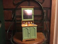 Fisher Price Loving Family Dollhouse Bathroom Medicine Cabinet Sink
