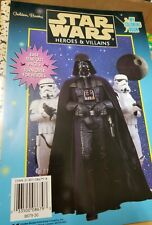 Star Wars Heroes & Villains Coloring Book by Golden Books