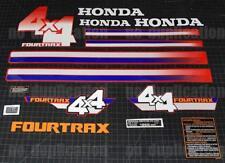 1986 86' honda TRX 350 4x4 Fourtrax ATV 15pc Decals Stickers Graphics Kit quad