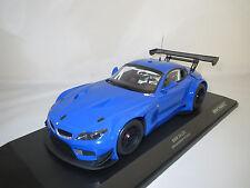 """Minichamps  BMW  Z4  GT3  """"2012""""  (blau) 1:18 OVP !"""