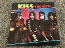 "Rare KISS : I / THE OATH (The Elder 1981) Holland 7"" vinyl picture sleeve single"