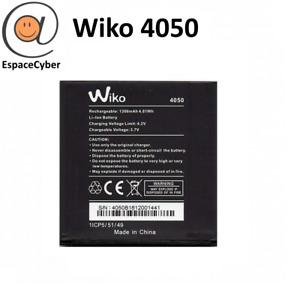 Batterie Wiko 4050 Sunny 2 / Sunny 1 / Sunset 1 / Sunset 2 / Goa - 1300mAh