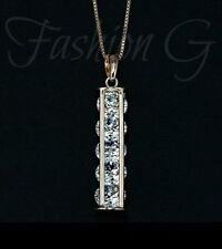 Cubic Zirconia Beauty CZ Costume Necklaces & Pendants