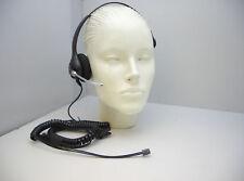 H251 Headset for Avaya Nortel NEC Aspire Mitel Toshiba Polycom Ascom & Commander
