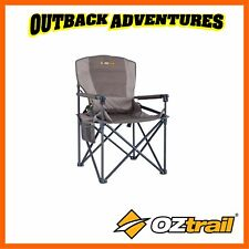 Oztrail RV Sport Chair Portable Outdoor Camping Picnic Fishing Folding Seat