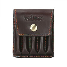 Tourbon Rifle Cartridges Pouch Gun Ammo Case Bullet Holder Vintage Leather in AU